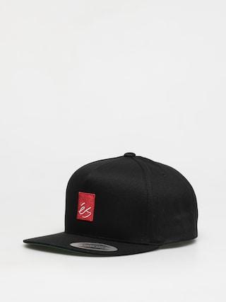 Czapka z daszkiem eS Main Block Snapback ZD (black)