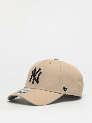 Czapka z daszkiem 47 Brand Mlb New York Yankees ZD (khaki)