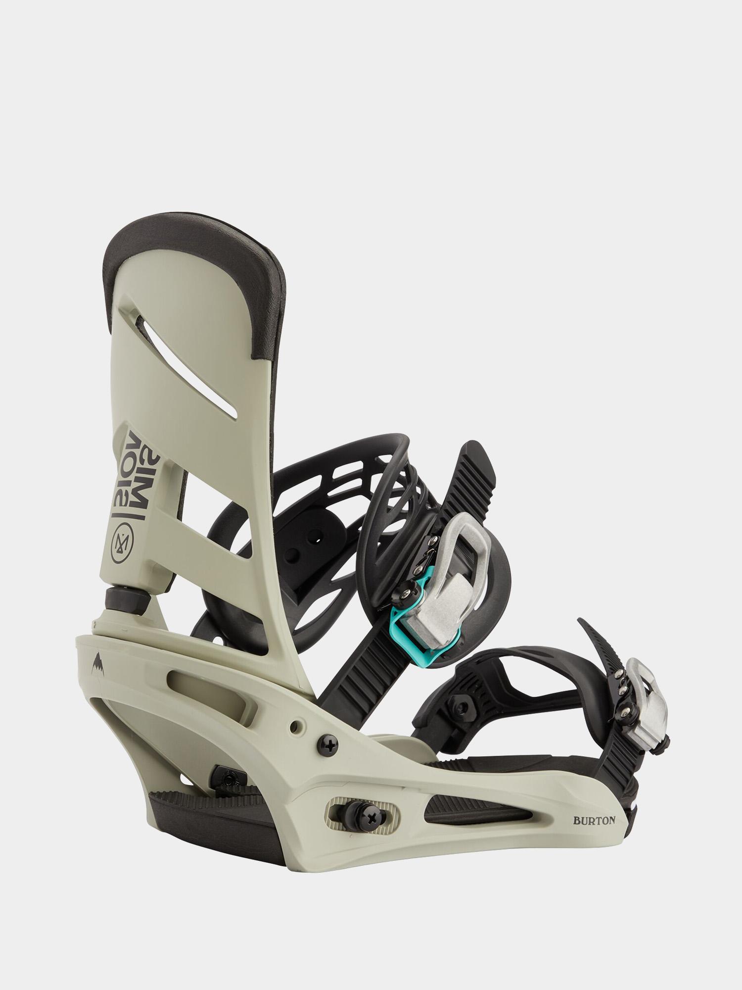 Wiu0105zania snowboardowe Burton Mission (gray/green)