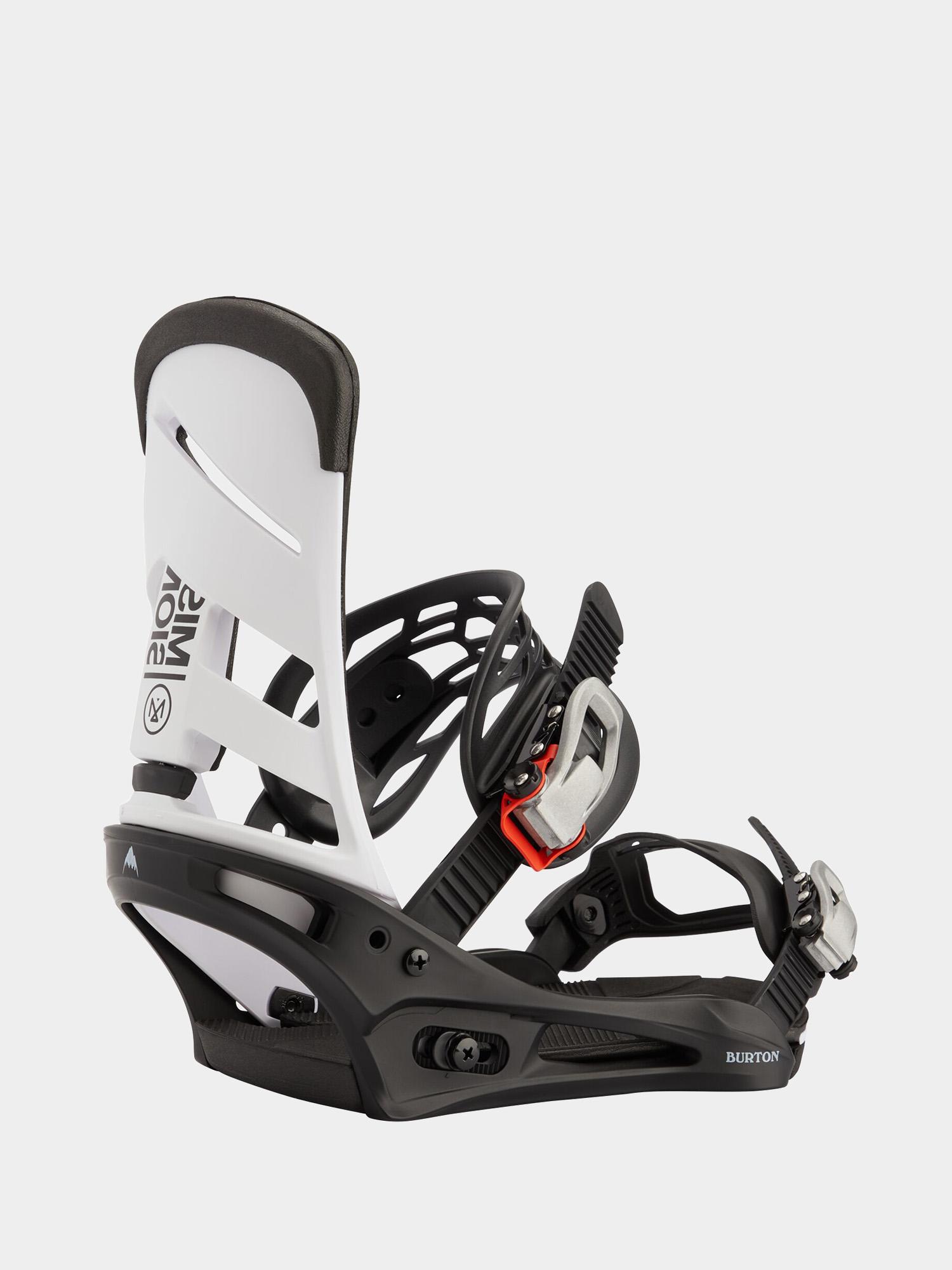 Wiu0105zania snowboardowe Burton Mission (white/black)