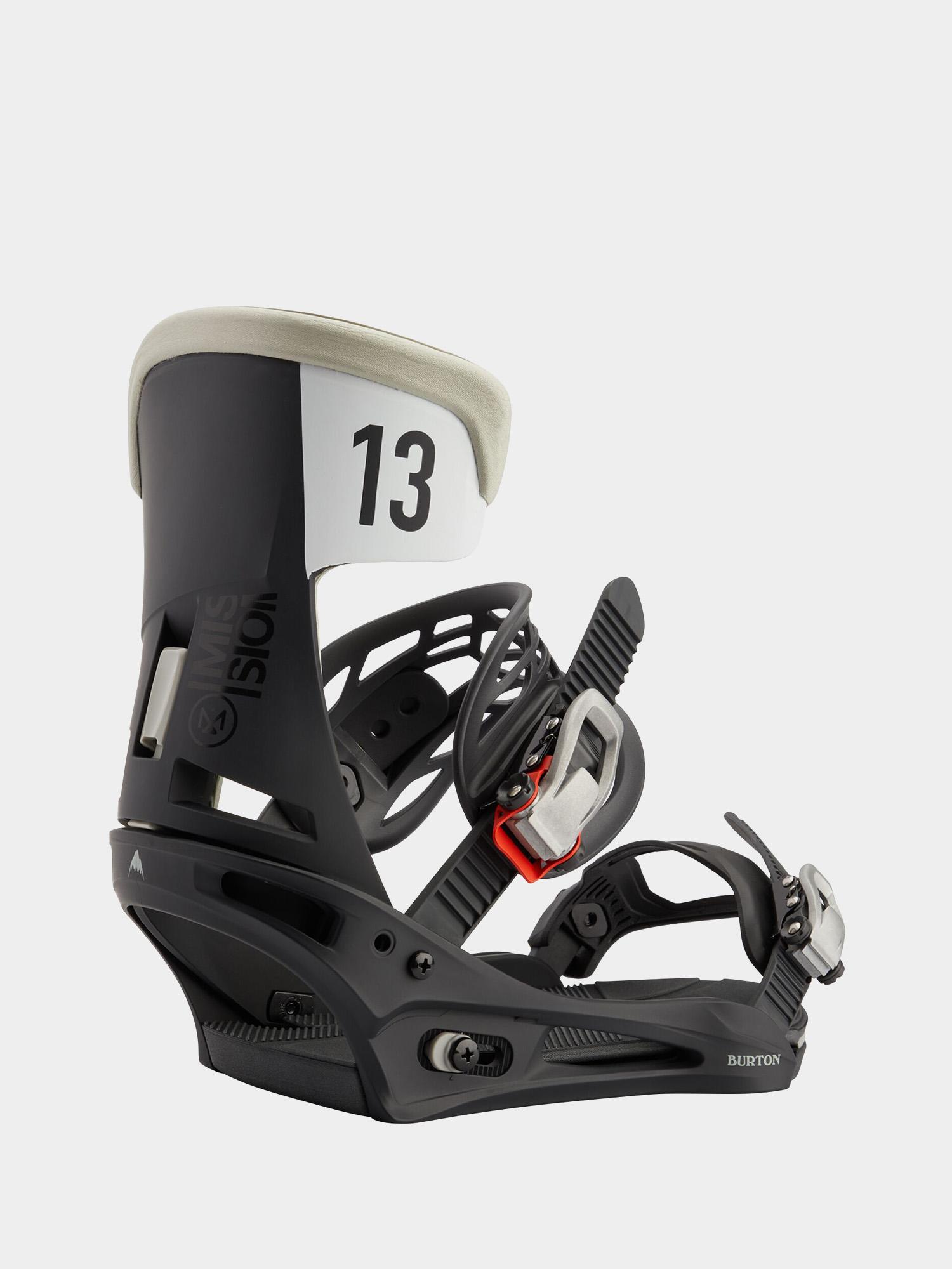 Wiu0105zania snowboardowe Burton Mission (black/gray wing)
