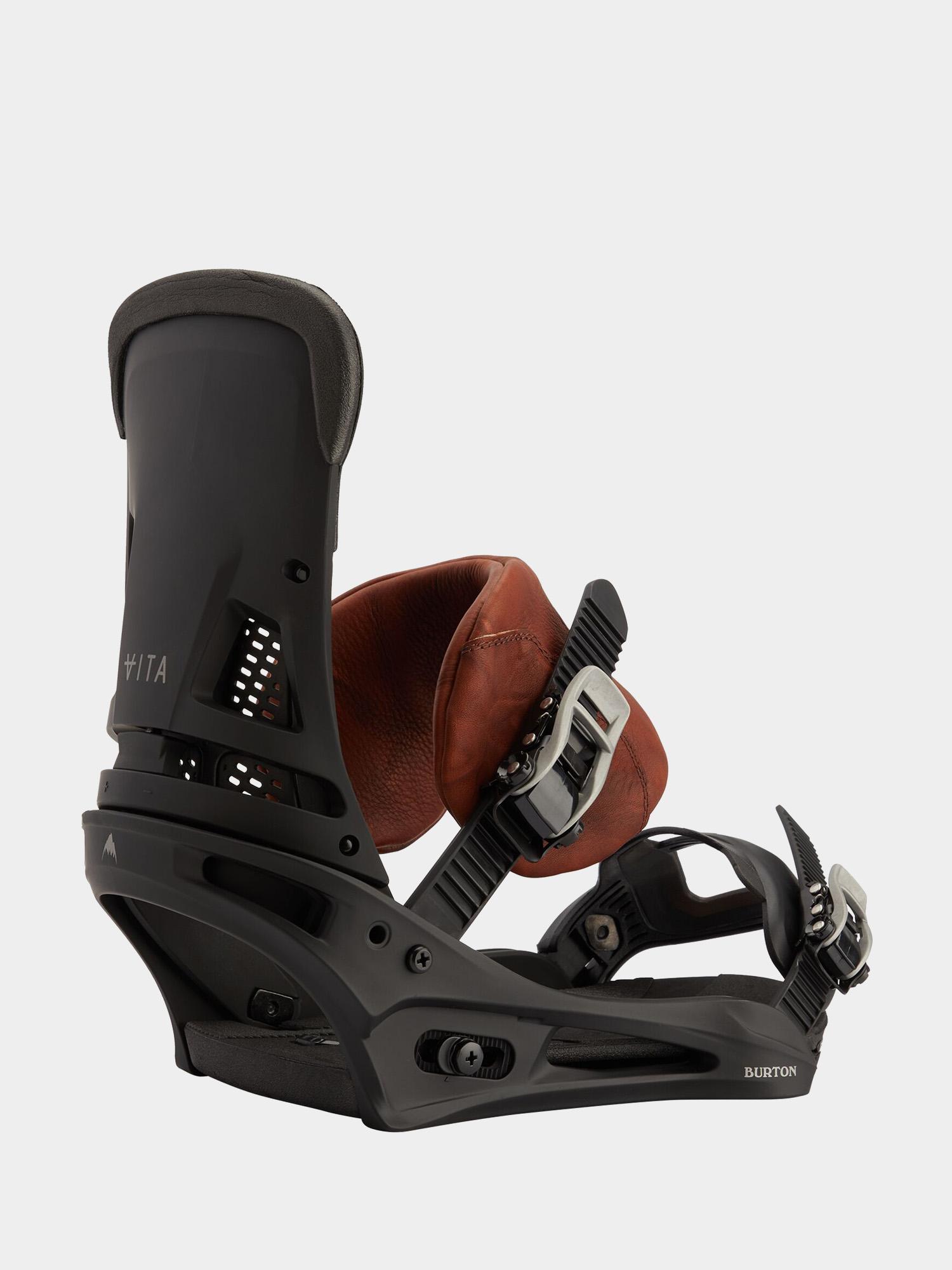 Wiu0105zania snowboardowe Burton Malavita (marbled leather)