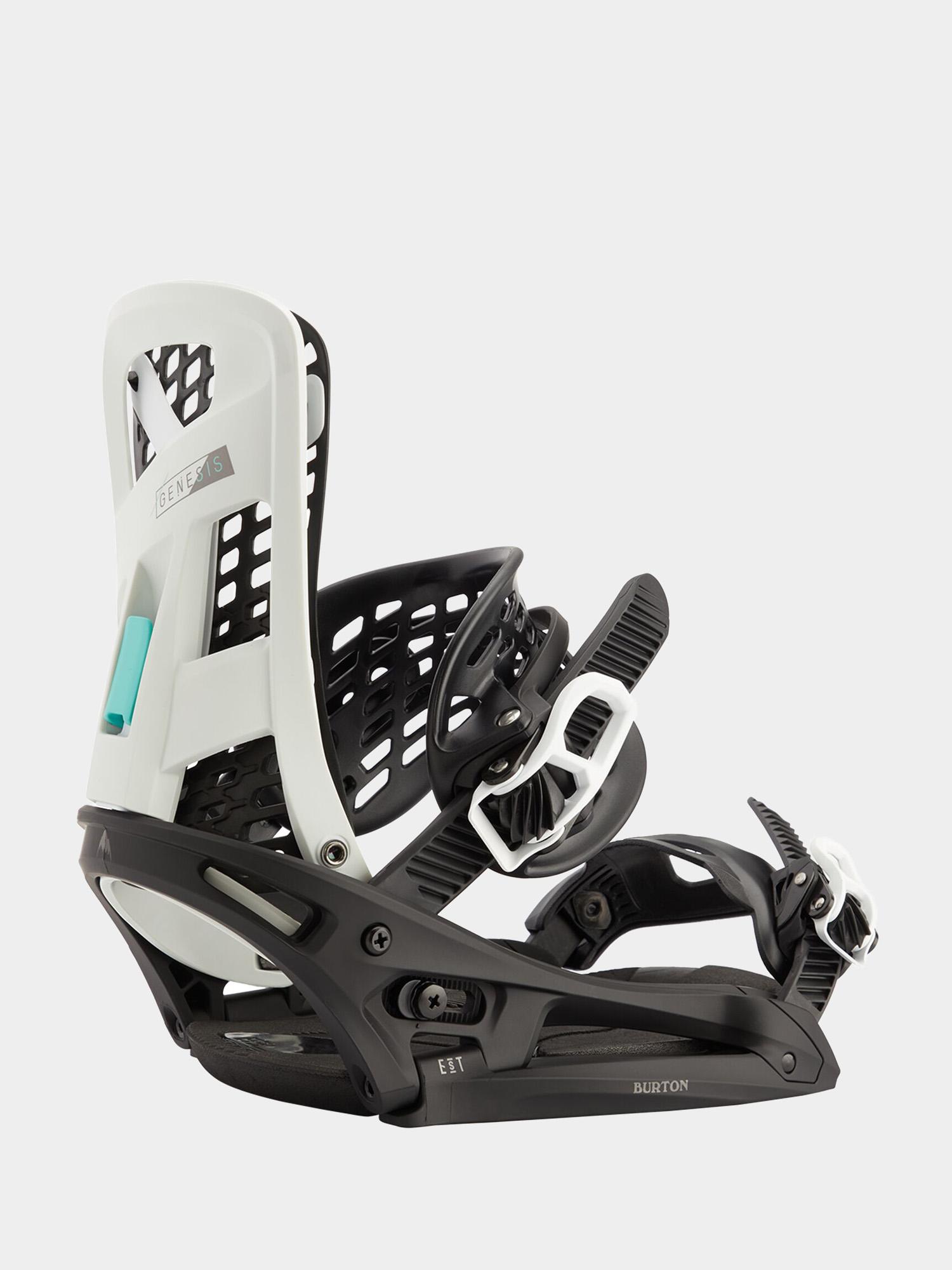 Wiązania snowboardowe Burton Genesis Est (black/chalk)
