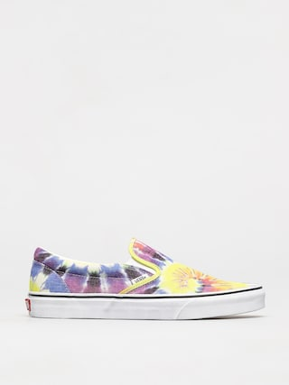 Buty Vans Classic Slip On (washed/tie dye/true wht)