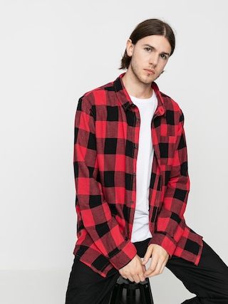 Koszula Quiksilver Motherfly Flannel (americas red motherfly)