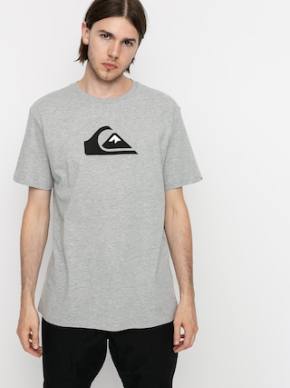 T-shirt Quiksilver Comp Logo (athletic heather)
