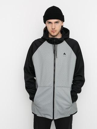 Bluza aktywna Burton Crown Weatherproof ZHD (gray heather/true black)