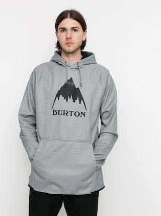 Bluza aktywna Burton Crown Weatherproof HD (gray heather)