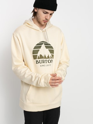 Bluza aktywna Burton Oak Seasonal HD (creme brulee heather)
