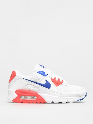 Buty Nike Air Max 90 Wmn (white/racer blue flash crimson)