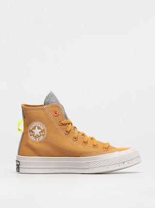 Trampki Converse Chuck 70 Renew Hi (saffron yellow/lemon)