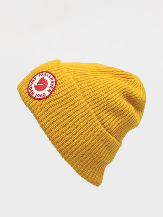 Czapka zimowa Fjallraven 1960 Logo ZD (mustard yellow)