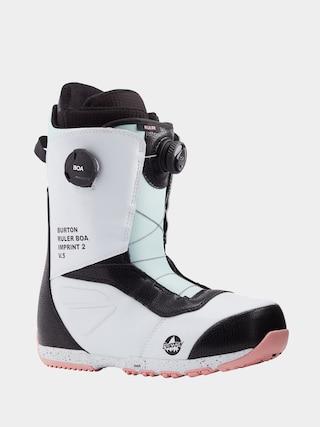 Buty snowboardowe Burton Ruler Boa (white/black/multi)
