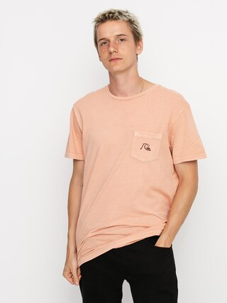 T-shirt Quiksilver Basic Bubble Pocket (henna)