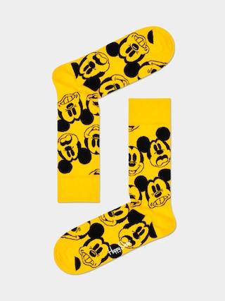 Skarpetki Happy Socks Face It Mickey (yellow/black)