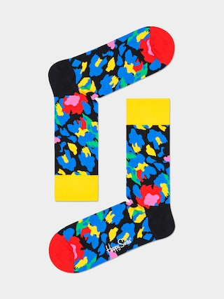 Skarpetki Happy Socks Leopard (yellow/blue)