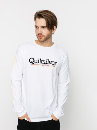 Longsleeve Quiksilver Tropical Lines (white)
