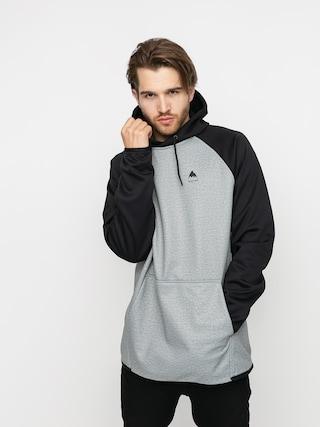 Bluza aktywna Burton Crown Weatherproof HD (gray heather/true black)