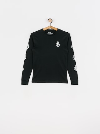 Longsleeve Volcom X Girl Skateboards Deadly Girl (black)