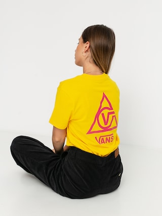 T-shirt Vans 66 Supply Wmn (lemon chrome)