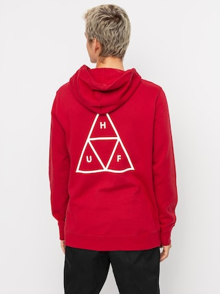 Bluza z kapturem HUF Essentials TT HD (rio red)