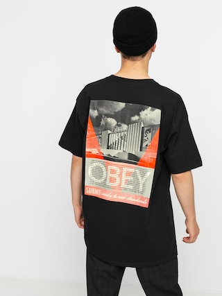 T-shirt OBEY Obey Conformity Standards (black)