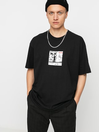 T-shirt OBEY Obey The Medium Is The Message (black)