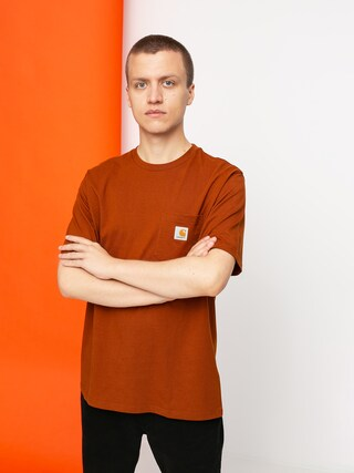T-shirt Carhartt WIP Pocket (brandy)