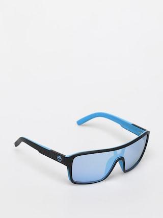Okulary przeciwsu0142oneczne Dragon Remix (matte black/ll sky blue ion)
