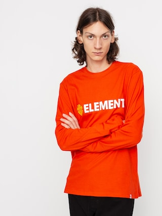 Longsleeve Element Blazin (red clay)