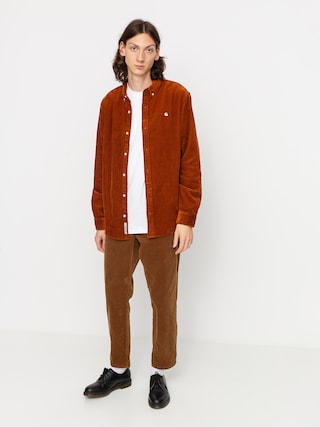 Koszula Carhartt WIP Madison Cord (brandy/wax)