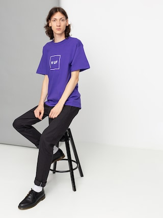 T-shirt HUF Essentials Box Logo (purple)
