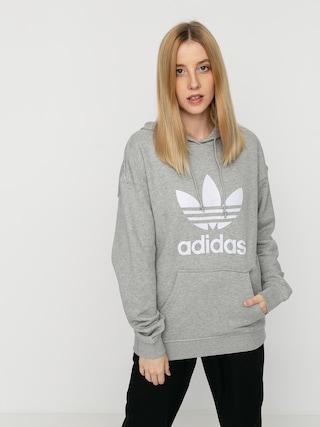 Bluza z kapturem adidas Originals Trf HD Wmn (mgreyh/white)