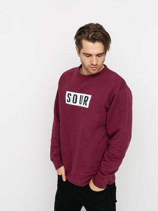 Bluza Sour Solution Sour Patch Crew (burgundy)