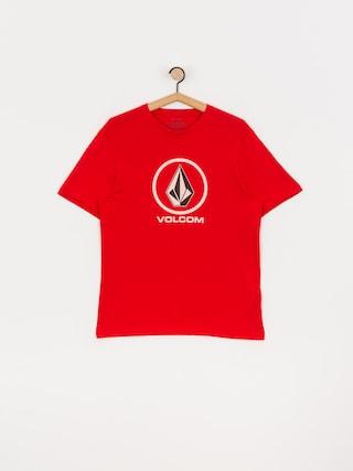 T-shirt Volcom Crisp Stone Bsc (fiery red)