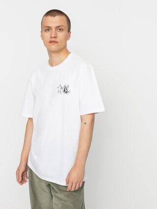 T-shirt Volcom X Girl Skateboards Stonely Rlx (white)