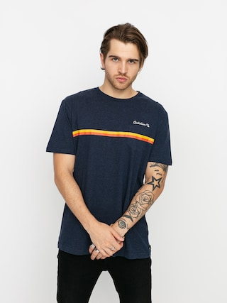 T-shirt Quiksilver High Piped (navy blazer heather)