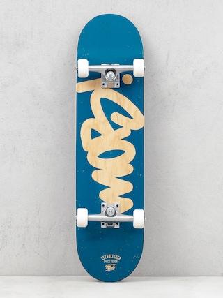Deskorolka Mob Skateboards Tag Logo (ocean)