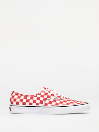 Buty Vans Authentic (blur check/true white/red)