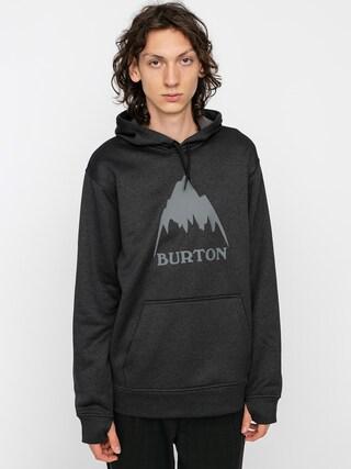 Bluza aktywna Burton Oak HD (true black heather)