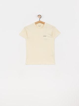 T-shirt Carhartt WIP Typeface Wmn (flour/black)