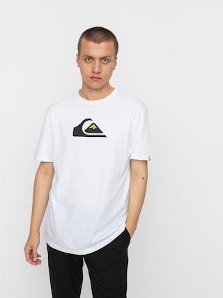 T-shirt Quiksilver Comp Logo (white)