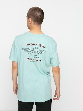 T-shirt Quiksilver Quik Local Shaper (eggshell blue heather)