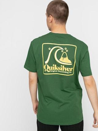 T-shirt Quiksilver Beach Tones (greener pastures)
