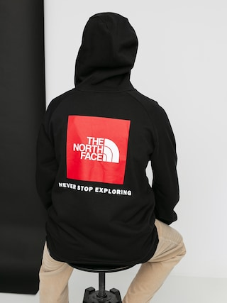 Bluza z kapturem The North Face Raglan Red Box HD (black)