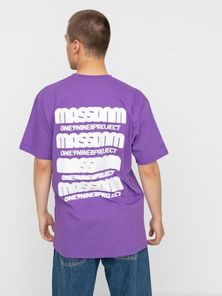 T-shirt MassDnm Blur (purple)