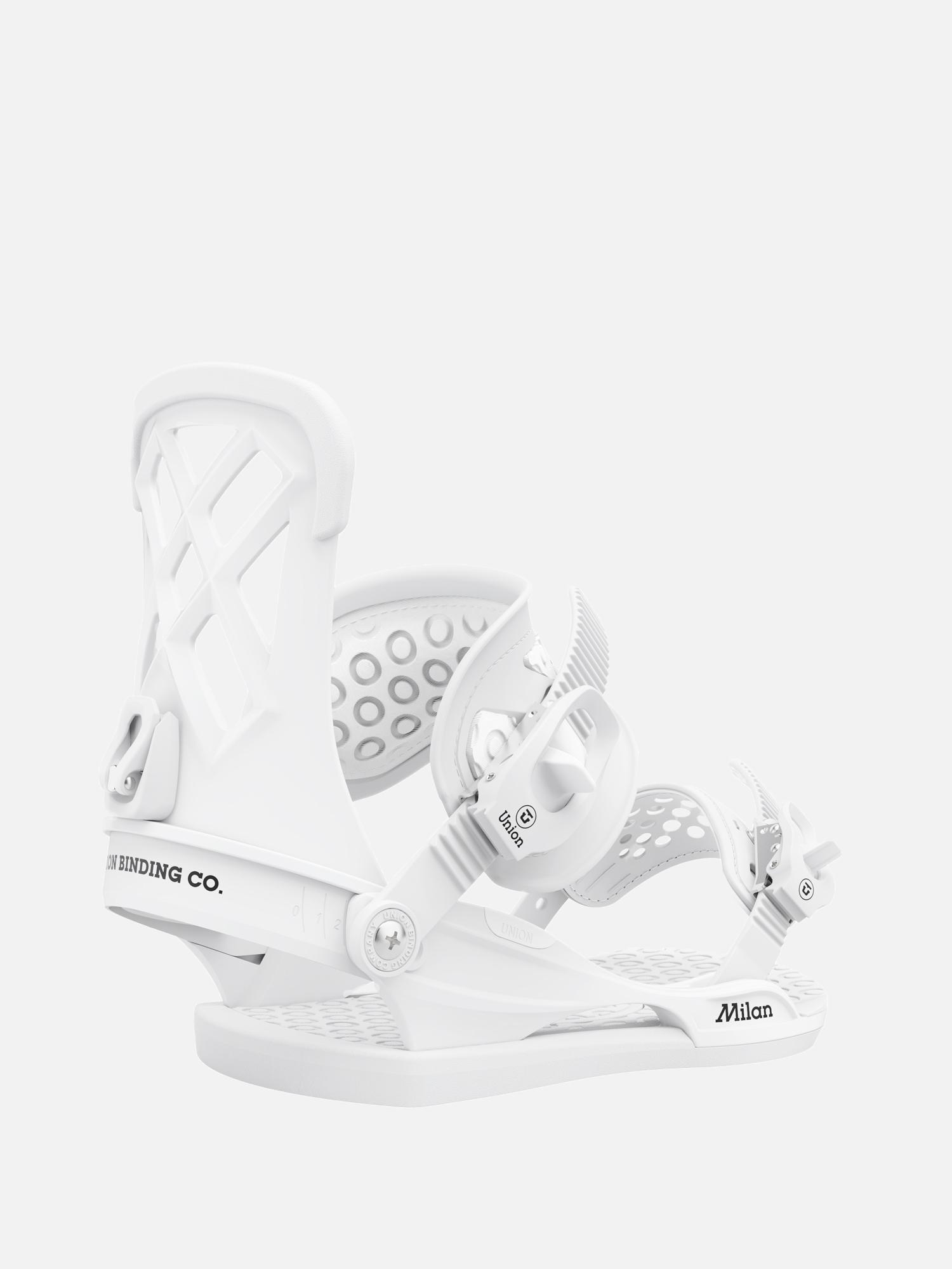 Wiu0105zania snowboardowe Union Milan Wmn (white)