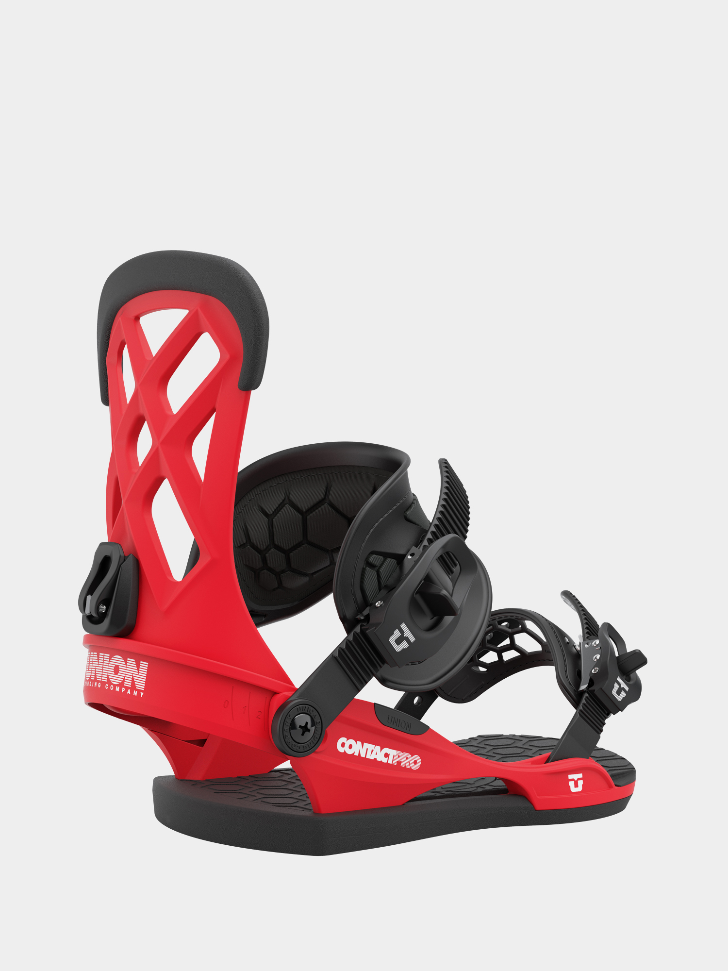 Wiu0105zania snowboardowe Union Contact Pro (red)