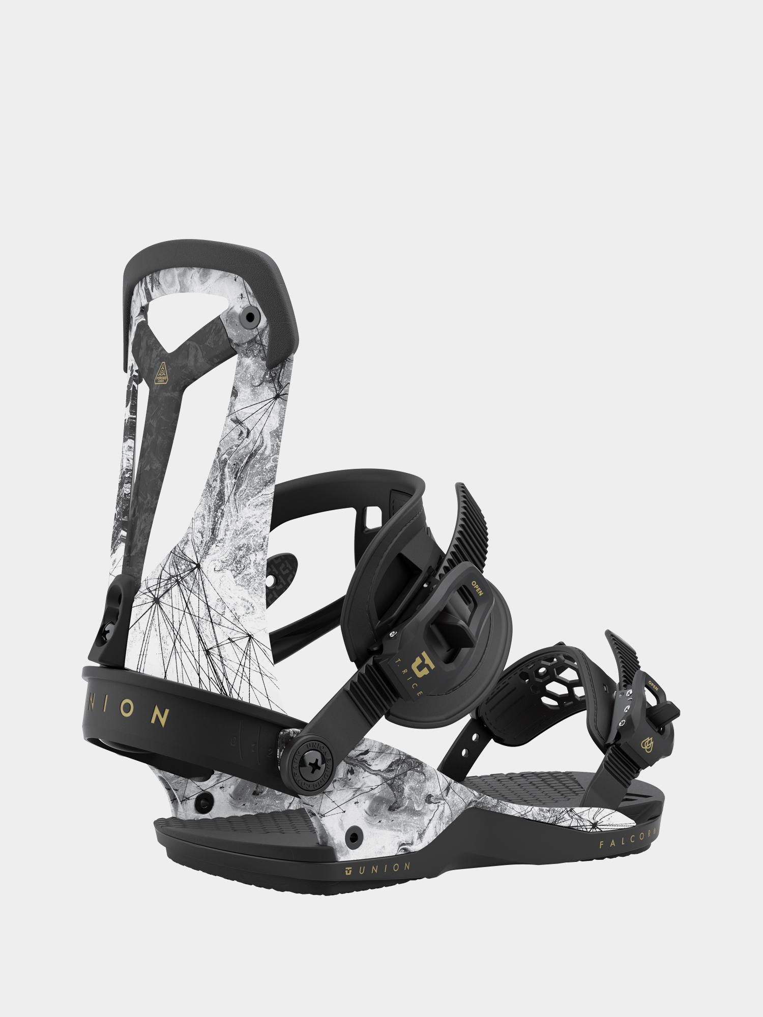 Wiu0105zania snowboardowe Union Falcor (arctic white)