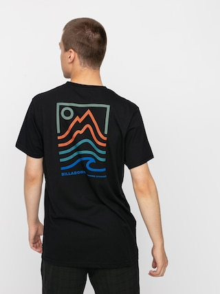 T-shirt Billabong Peak (black)